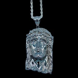 Other - 925 Sterling Silver Jesus Pendant